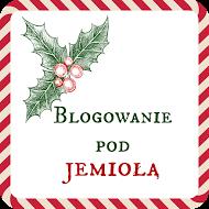 Wielka świąteczna niespodzianka, czyli Blogowanie pod jemiołą