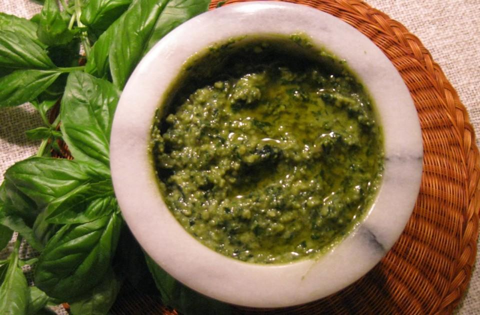 Pesto, czyli zielona rozkosz podniebienia