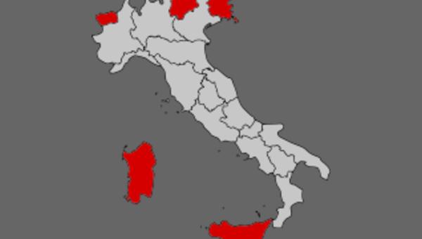Regiony o statusie specjalnym