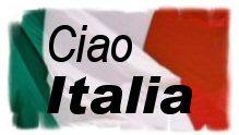 Ciao, ciao Italia!