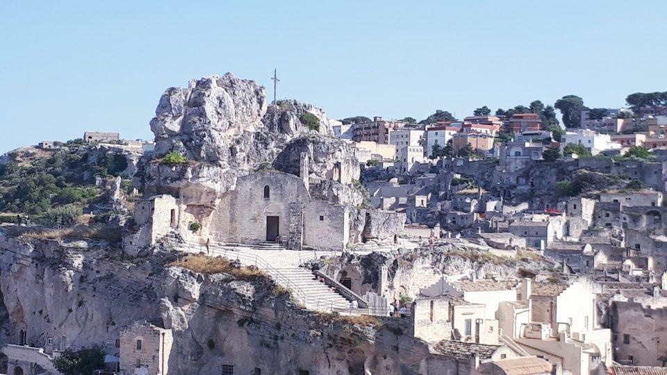 Matera, skalne miasto