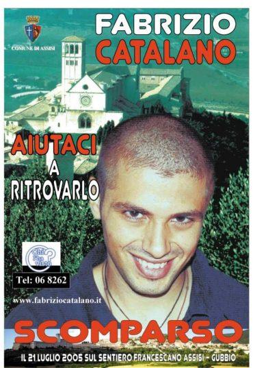 Fabrizio Catalano: zaginięcie w Asyżu
