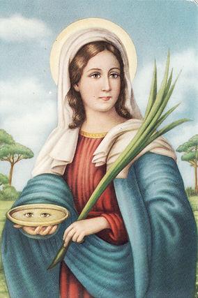 O świętej Łucji wpis nienajkrótszy