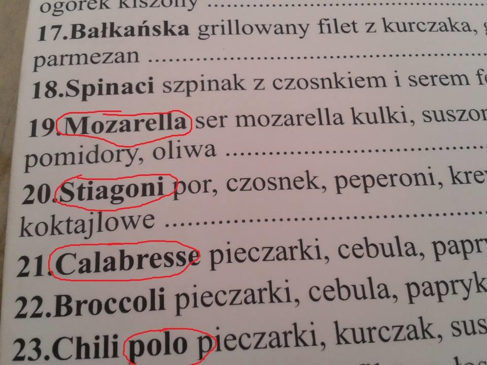 Co drażni uczących się włoskiego?