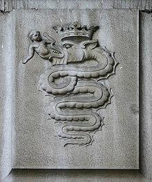 https://it.wikipedia.org/wiki/Biscione_(araldica)